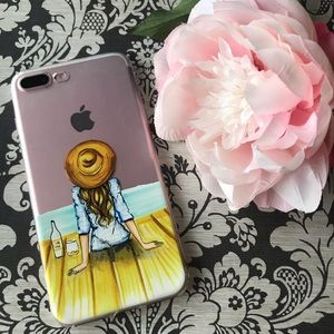 Accessories - FASHION TRAVEL GIRL IPHONE 7 & 7 8 PLUS SOFT CASE